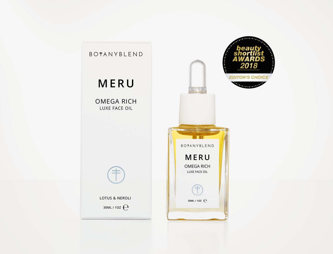 Meru Organic Face Oil
