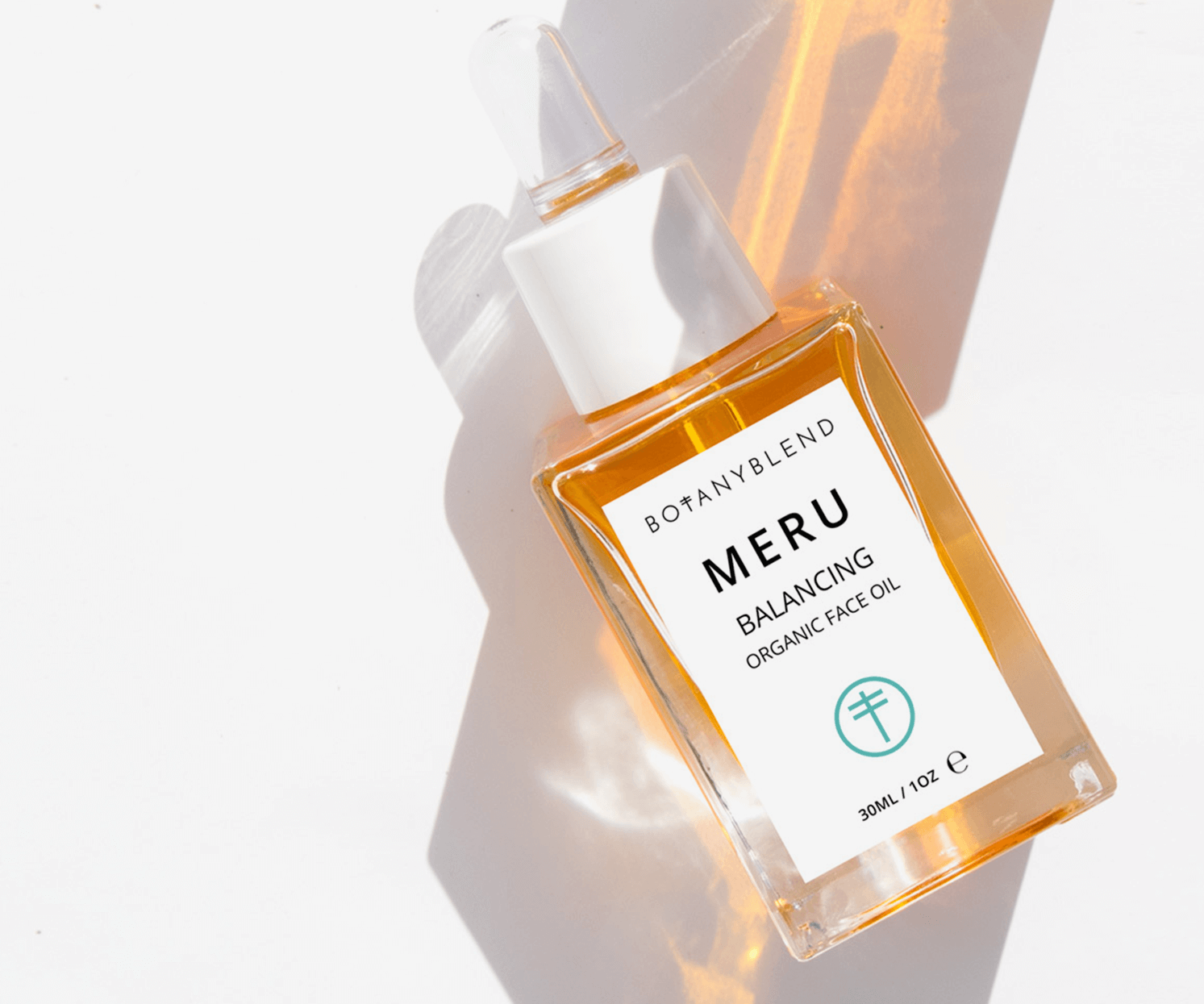 Meru one of our organic face oils