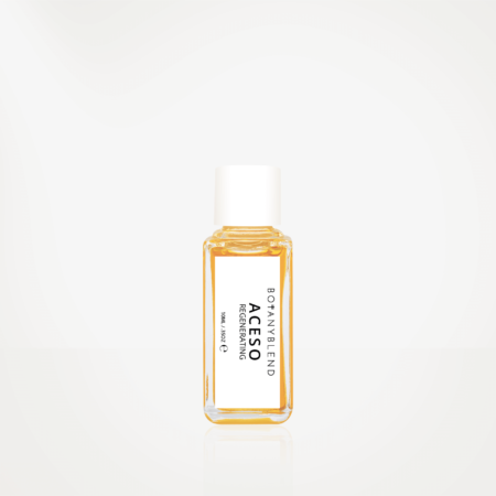 organic face oil discovery set aceso bottle