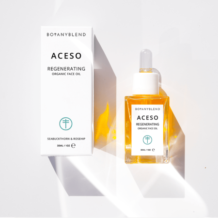 aceso organic face oil square