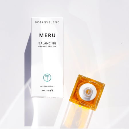 meru organic face oil square